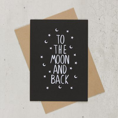 Kaart to the moon and back