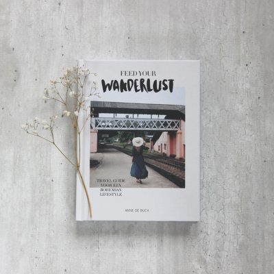 Boek feed your wanderlust