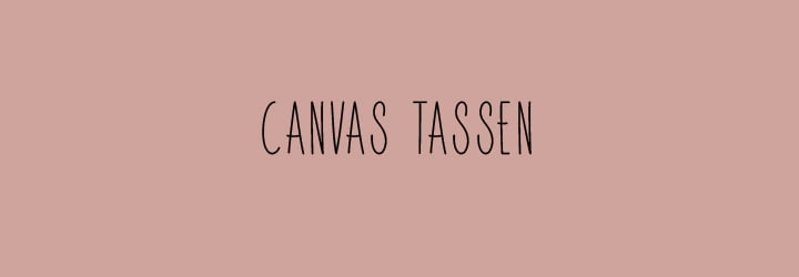 Categorie canvas tassen